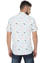 Load image into Gallery viewer, Tusok-prismVacation-Printed Shirtimage-White Text Aloha (4)