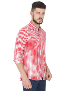 Tusok-red-chessCheckered Shirtimage-Red White Check (3)