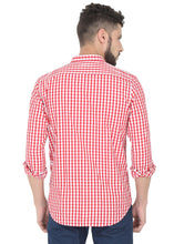 Load image into Gallery viewer, Tusok-red-chessCheckered Shirtimage-Red White Check (4)