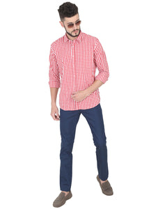 Tusok-red-chessCheckered Shirtimage-Red White Check (6)