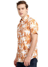 Load image into Gallery viewer, Tusok-walnutVacation-Printed Shirtimage-Orange Zigzag (2)