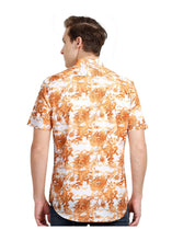 Load image into Gallery viewer, Tusok-walnutVacation-Printed Shirtimage-Orange Zigzag (4)