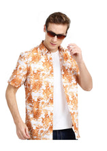 Load image into Gallery viewer, Tusok-walnutVacation-Printed Shirtimage-Orange Zigzag (6)