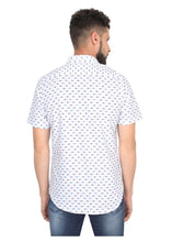 Load image into Gallery viewer, Tusok-white-fishVacation-Printed Shirtimage-Small Fish White (5)
