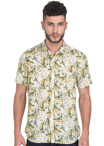 Tusok-yellow-greenVacation-Printed Shirtimage-Yellow Green Bushy (1)