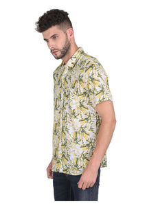 Tusok-yellow-greenVacation-Printed Shirtimage-Yellow Green Bushy (2)
