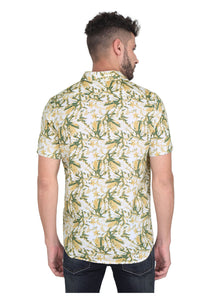Tusok-yellow-greenVacation-Printed Shirtimage-Yellow Green Bushy (3)