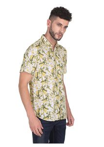 Tusok-yellow-greenVacation-Printed Shirtimage-Yellow Green Bushy (4)