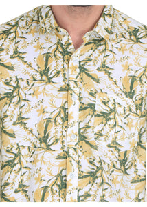 Tusok-yellow-greenVacation-Printed Shirtimage-Yellow Green Bushy (5)