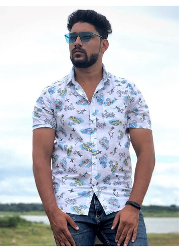 Tusok-aquaFeatured Shirt, Vacation-Printed Shirtimage-Aqua (2)