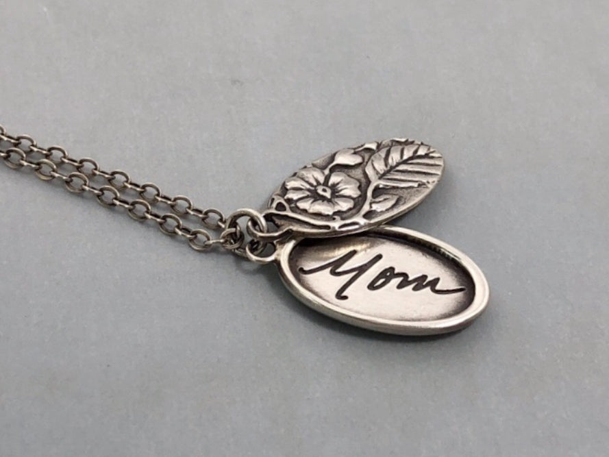 Personalized Handwriting Locket, Where Love Grows