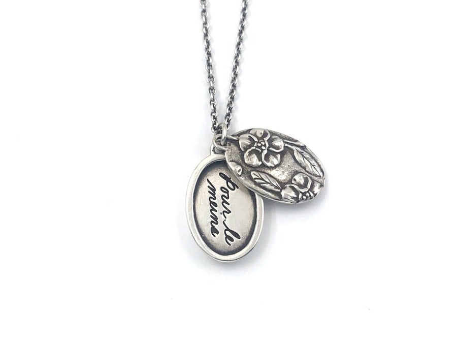 Forget Me Not Posie Locket