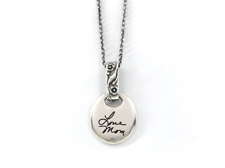 Personalized Handwriting Necklace, Gather