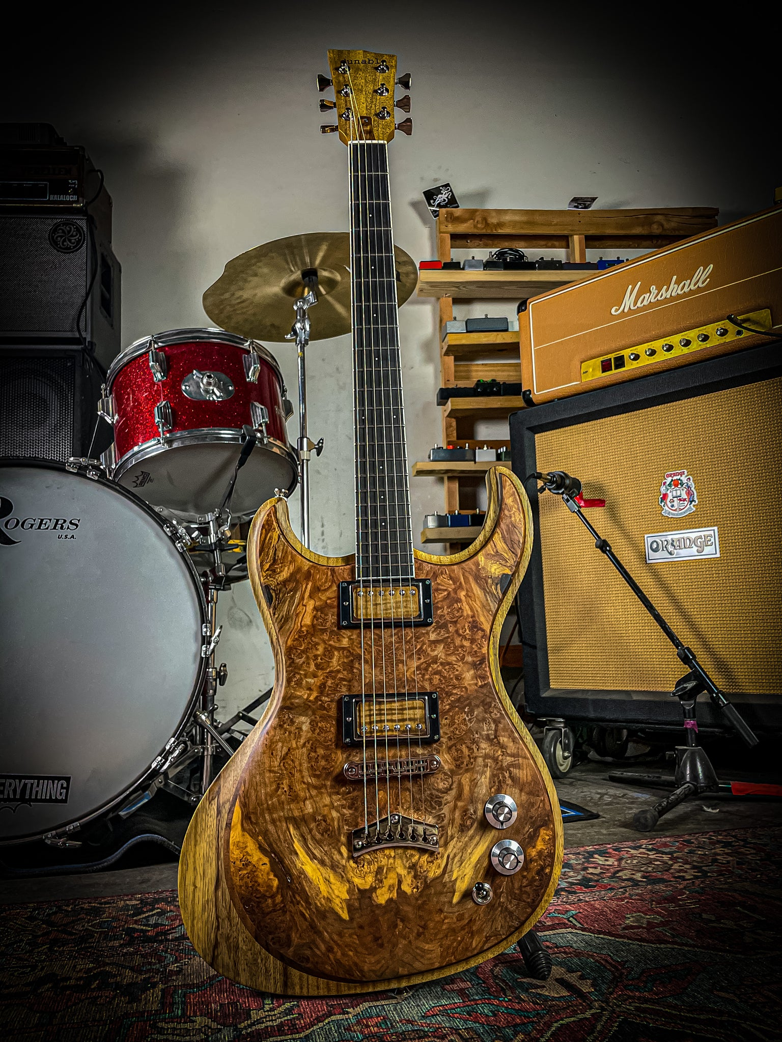 USA Custom Gnarwhal Burl Top