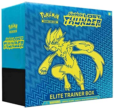 2018 Pokemon TCG Sun & Moon Lost Thunder Elite Trainer Box - Culture source
