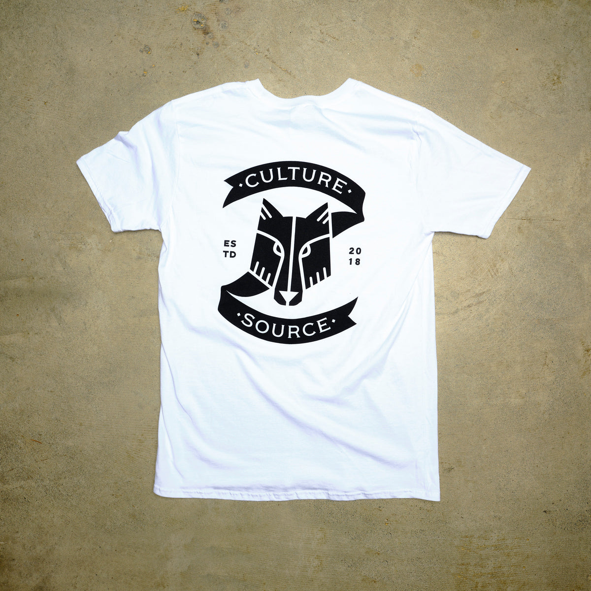 Culture Source Z Pocket Tee White - Culture source