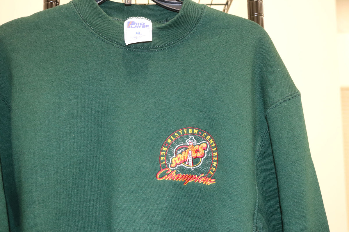 NBA Seattle Super Sonic 1996 Western Conference Champions Sweater - Culture source