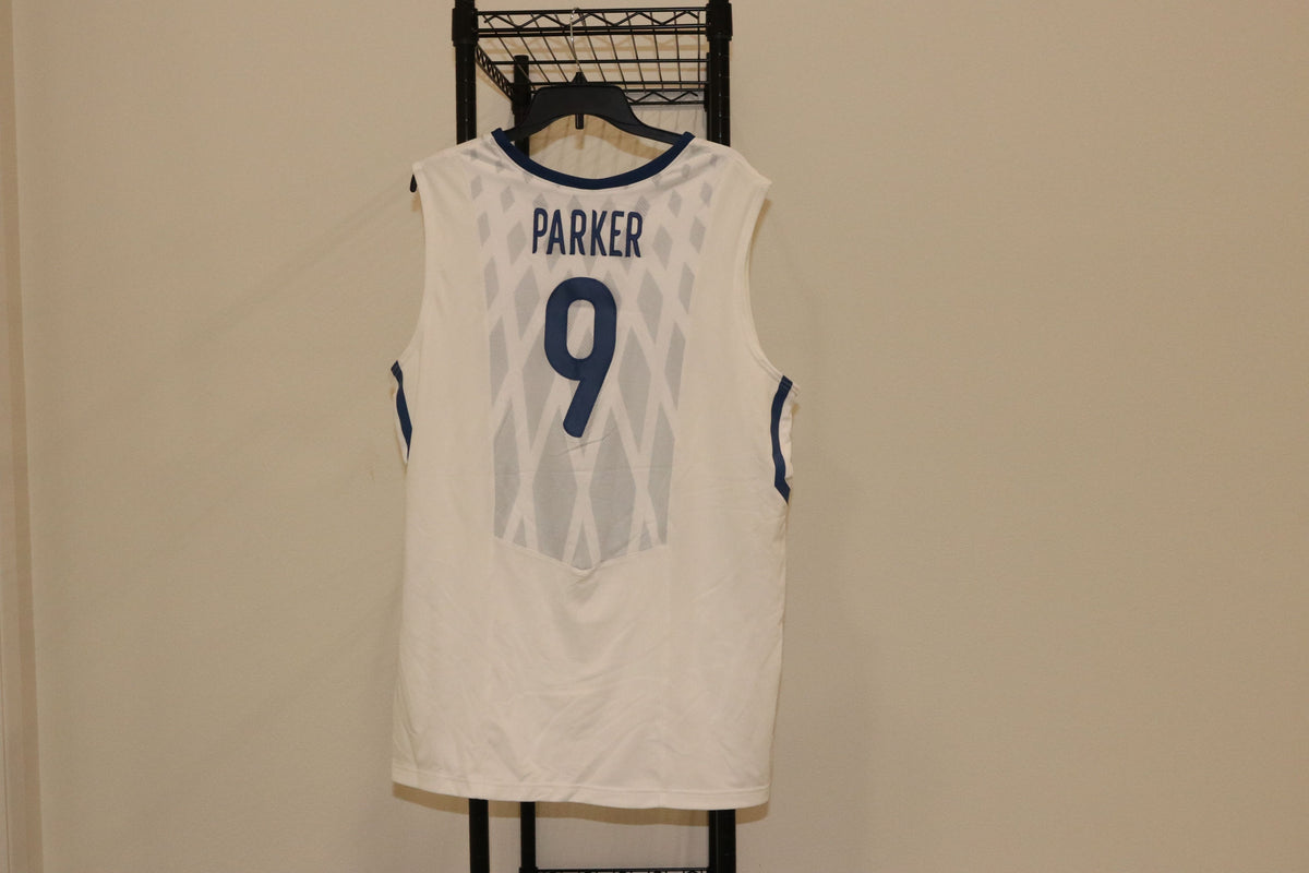 NBA NIKE FRANCE TONY PARKER WHITE INTERNATIONAL BASKETBALL JERSEY - Culture source