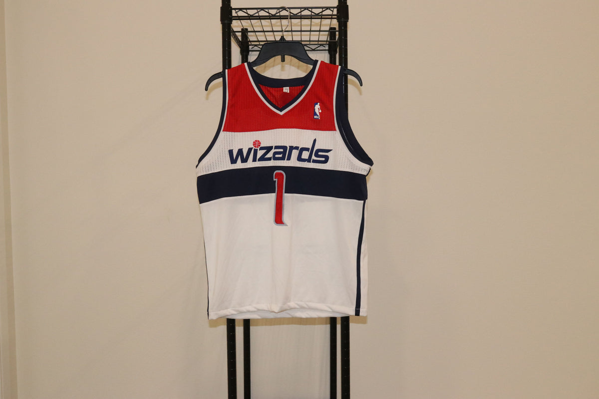 NBA Adidas Wizards Jersey #1 Blank - Culture source