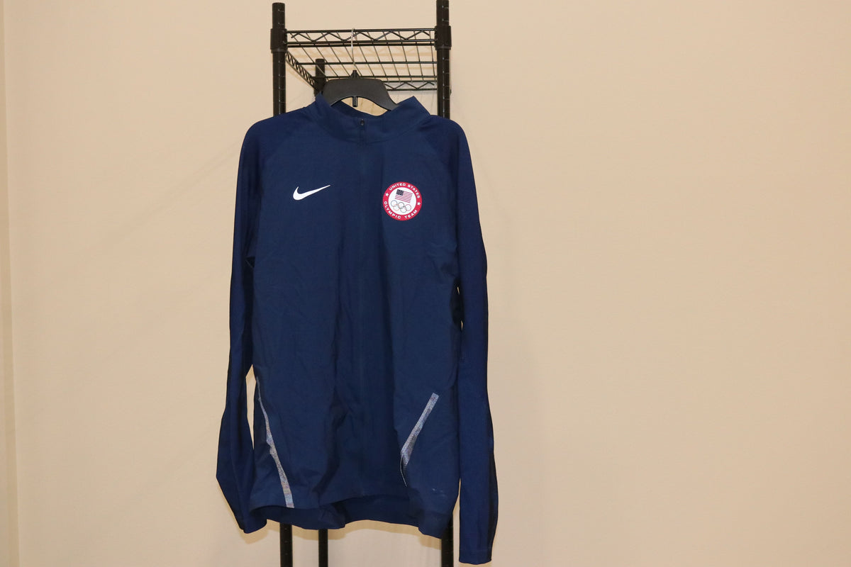 Nike USA Olympic Navy Track Jacket 3m - Culture source