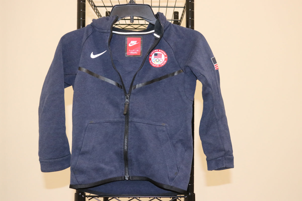 Nike Nsw Olympic USA Toddler Zip Up Tech Fleece Jacket - Culture source
