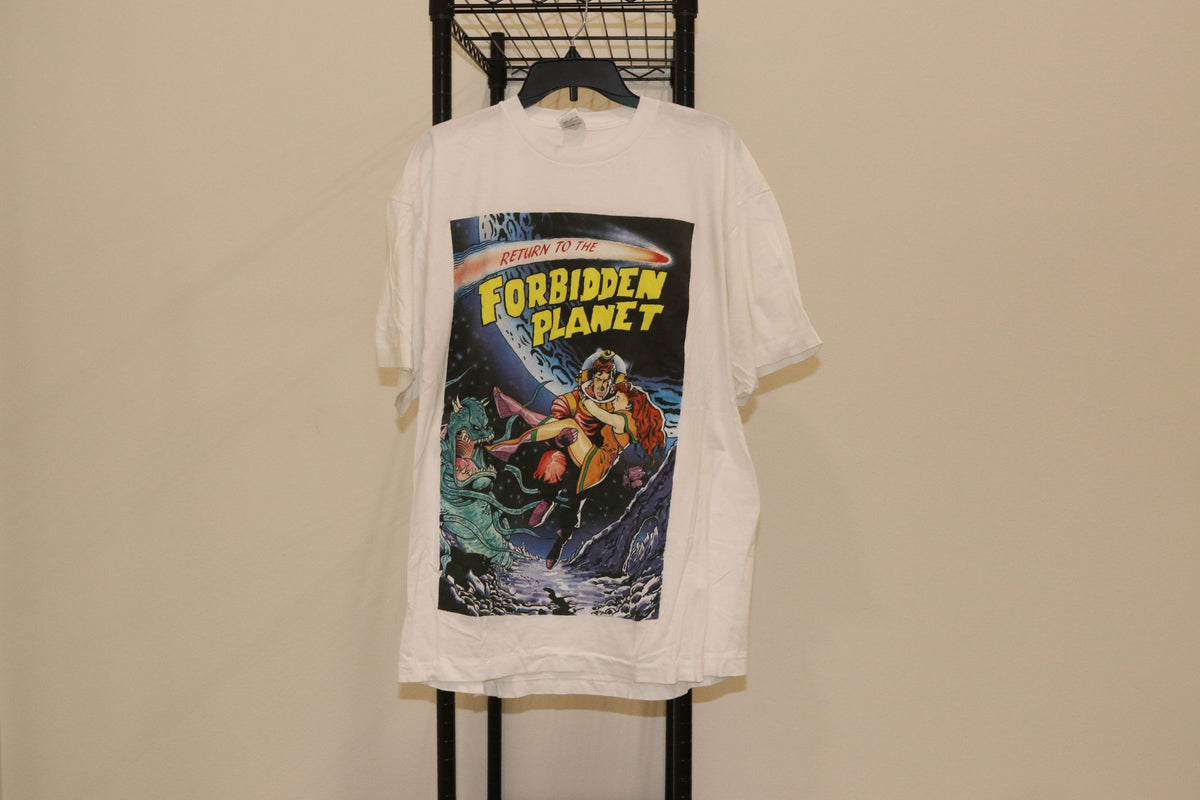 Return To The Forbidden Planet Dewynters Tee Shirt Single Stitch Double Sided - Culture source