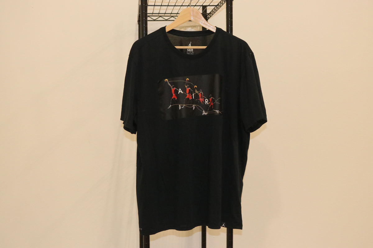 Michael Jordan Art Of The Dunk Logo Tee Shirt - Culture source
