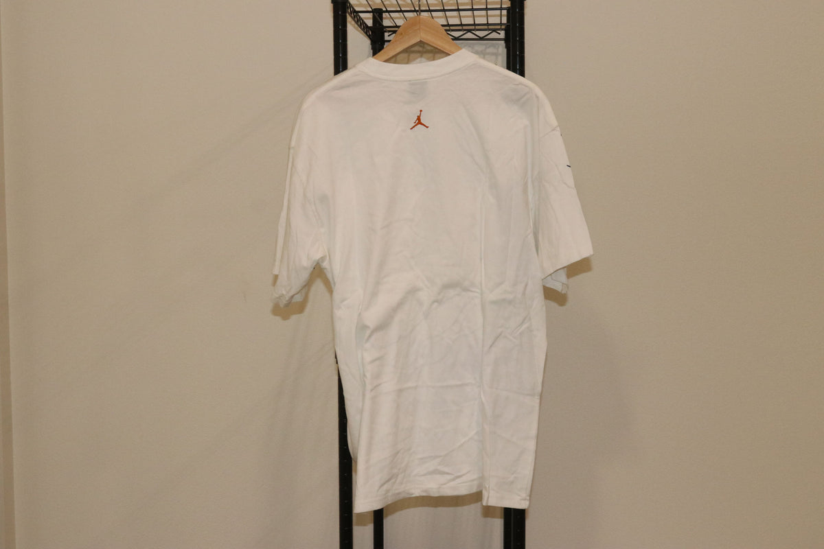 Michael Air Jordan Brand Jumpman Flint 13 Outline All Over Print Vintage Tee Shirt - Culture source