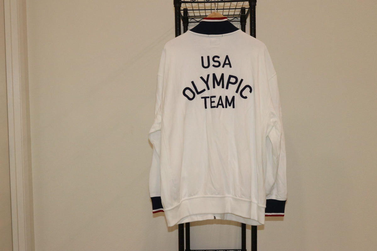 Polo Ralph Lauren 2012 Official TEAM USA Olympic Track Collar Jacket - Culture source