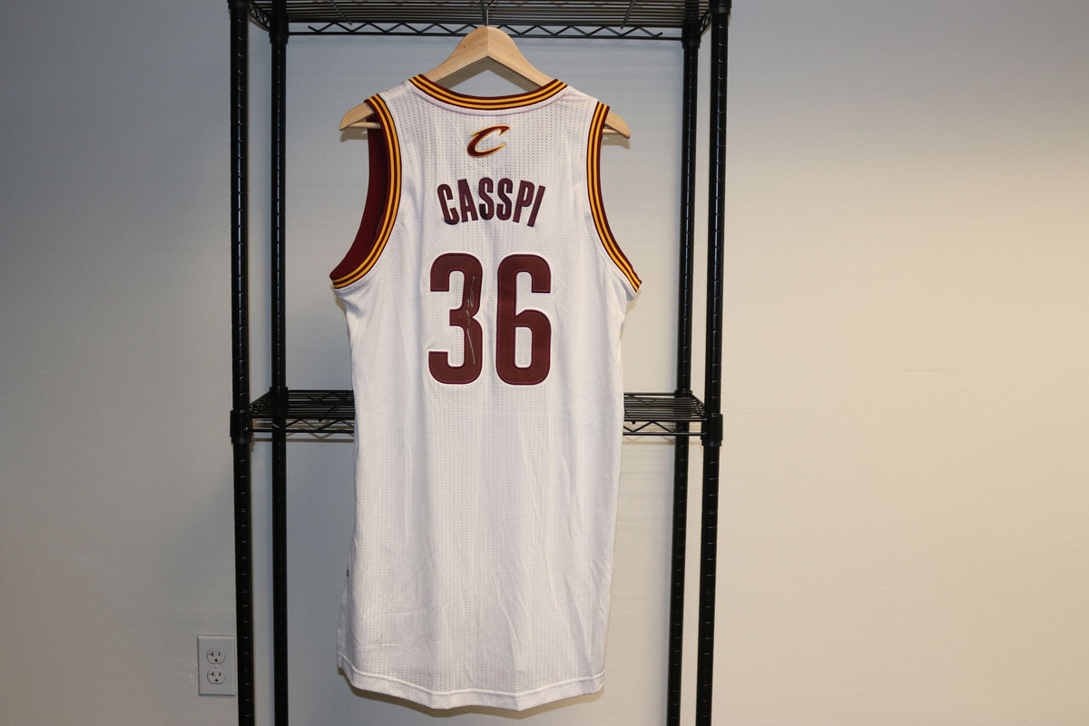 Adidas NBA Cleveland Cavaliers Omri Casspi #36 Authentic Basketball Jersey Autographed - Culture source