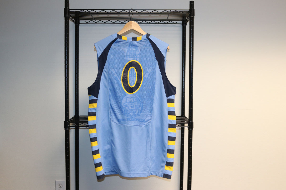 Jordan Marquette Golden Eagles University College Basketball Jersey #0 Authentic - Culture source