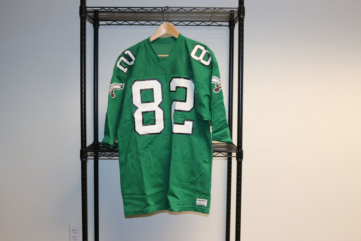 NFL Sand Knit Philadelphia Eagles #82 Vintage Football Jersey - Culture source