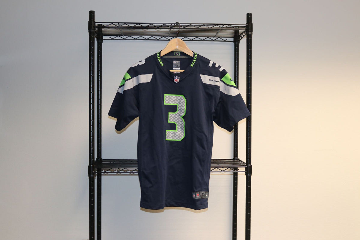 Nike NFL Seattle Seahawks Russell Wilson Youth XL Football Jersey - Culture source