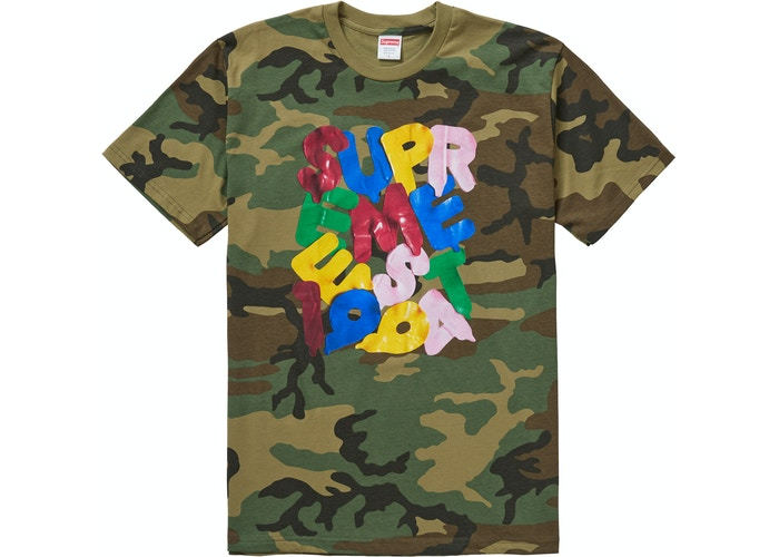 Supreme Balloons Tee Woodland Camo - Culture source