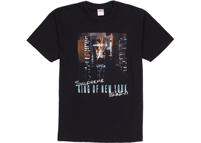 Supreme King of New York Tee Black - Culture source