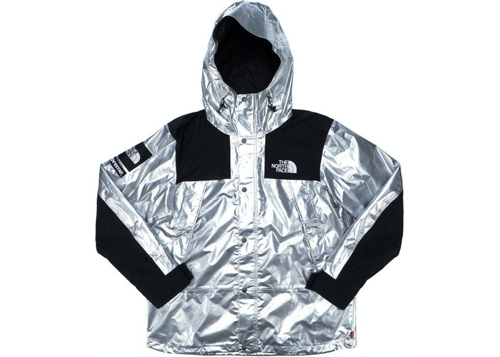 Supreme The North Face Metallic Mountain Parka Silver - Culture source