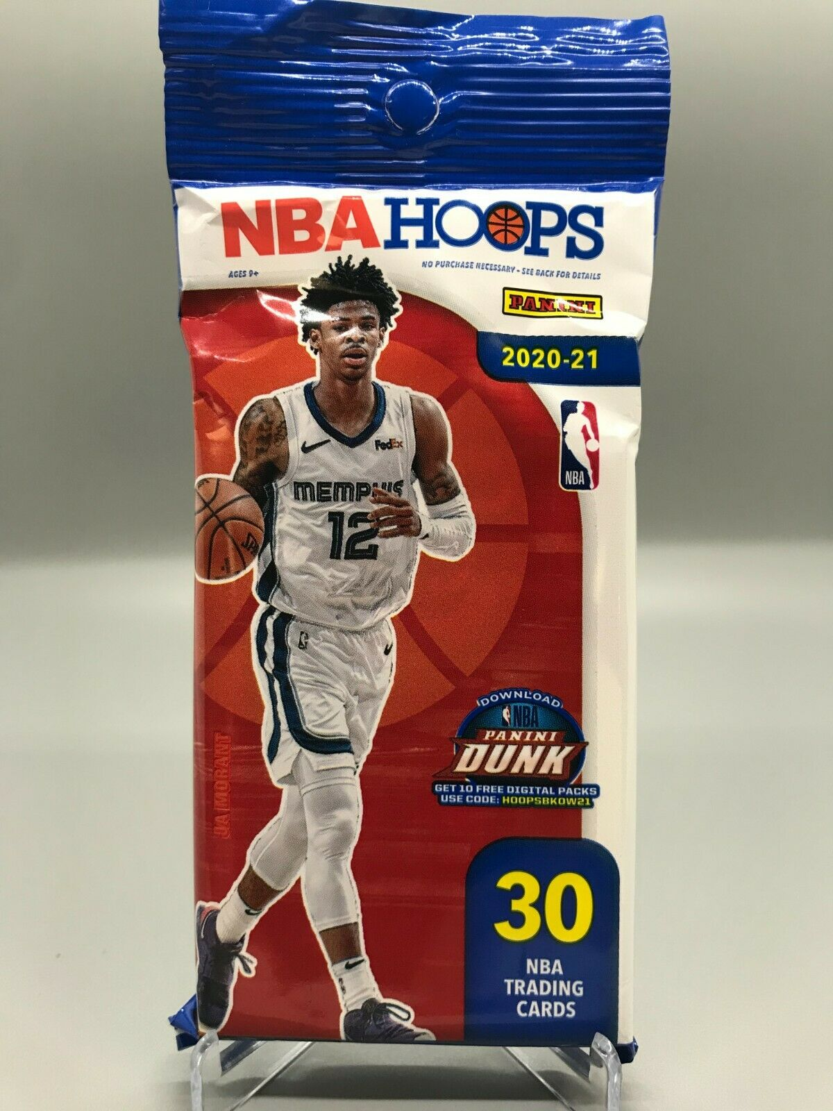 2020-2021 Panini NBA Hoops Cello Fat Pack - Culture source