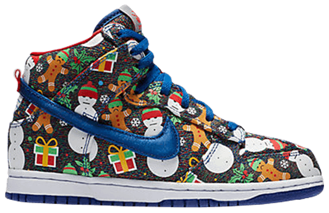 Concepts x SB Dunk High PS 'Ugly Christmas Sweater' 2017 - Culture source
