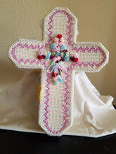 Load image into Gallery viewer, Rosary Box Cross Shaped Storage Box