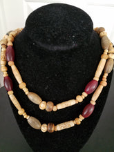 Load image into Gallery viewer, Wood Bead Necklace