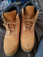 Men's Timberland Steel Toe Boots Size