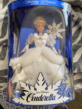 Load image into Gallery viewer, Mattel's Cinderella Barbie Holiday's 1996