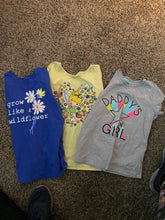 Load image into Gallery viewer, Girl's Tee's Lot of 3