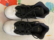 White and Black Jordan Nike's Size 3