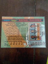 Load image into Gallery viewer, Topps 1981 Stadium Club Card Rafael Ramirez
