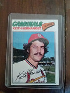 Keith Hernandez Topps 1977 Baseball Card