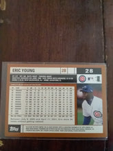 Load image into Gallery viewer, Eric Young Chicago Cubs Topps 2002 Baseball Card