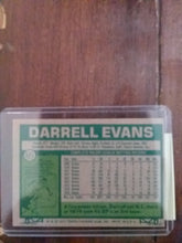 Load image into Gallery viewer, Darrell Evan's SF Giants Topps 1977 Baseball Cards