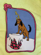 Max The Dog Grinch Iron On Applique