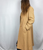 Load image into Gallery viewer, 1960s Vintage Tan  Coat